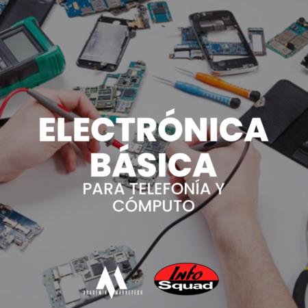 Electrónica aplicada a reparación de laptops y telefonía móvil