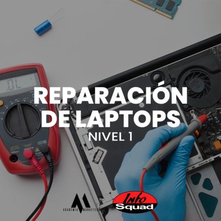 Nivel 1 – Reparación de laptops avanzado y osciloscopio desde cero