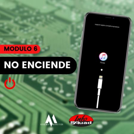 Reparación de iPhone – Fallas de NAND y equipos que no encienden